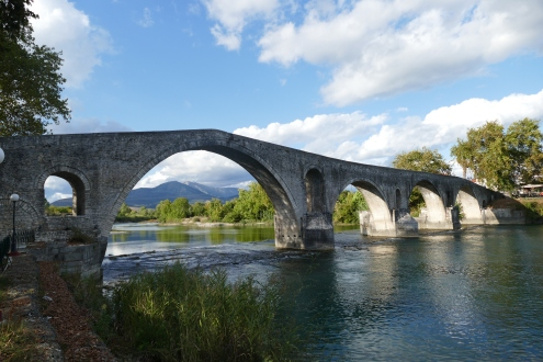 The Bridge at Arta. No one knows when it was made!