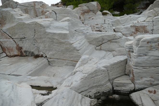 The Marble Quarries at Aliki on Thasos