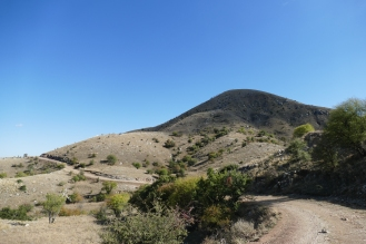 Mt. Lykaion. Would you climb that off the trail?