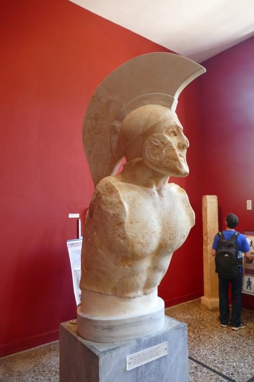 """Bust of """"Leonidas"""" (Sparta Museum)"""
