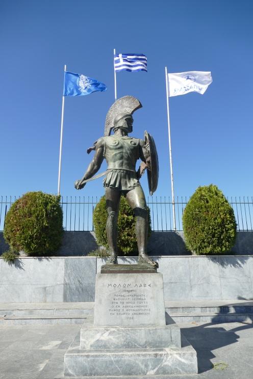 Statue of Leonidas in Sparta