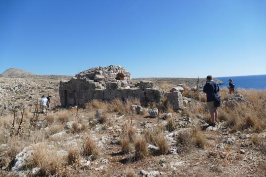 Temple of Apollo at Cape Teneron