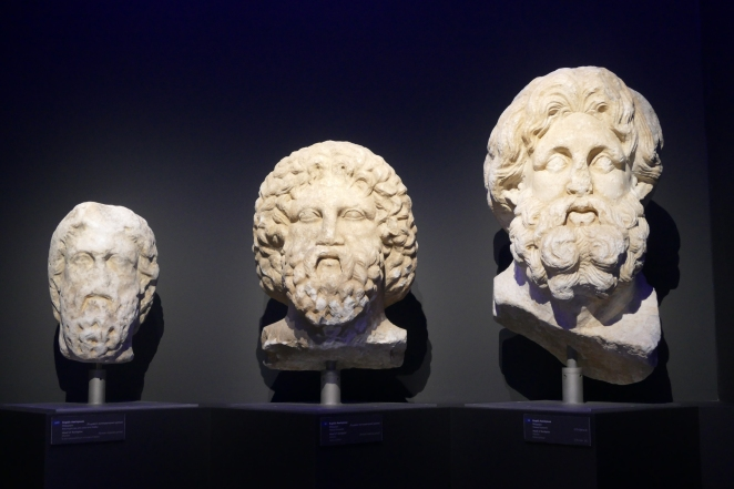 Marble heads (Tegea Museum)