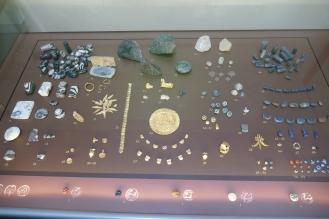Mycenaean Jewelry (Thebes Museum)