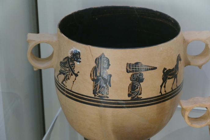 A Kabeiric Cup (Thebes Museum)