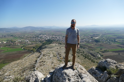 On the acropolis at Orchomenos