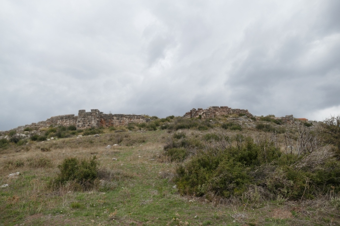The city walls of Panopeus