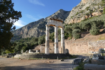 The Tholos Monument at the Santuary of Athena Pronaia