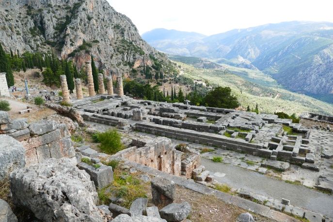 The Temple of Apollo (Delphi)