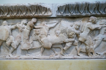 Frieze from the Treasury of the Siphnians (Delphi Museum)
