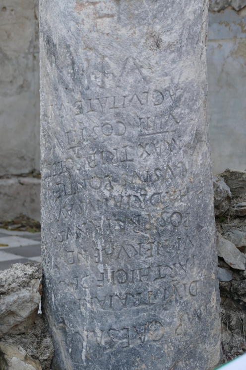 Roman Milestone (Pharsalus)