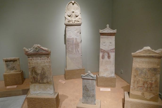 Painted Grave Stelai (Volos Museum)