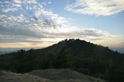 Sunset at Goritsa