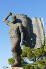 Statue of Spyros Kagiales