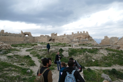 Inside the Acropolis of Argos (Larissa)