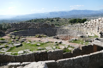 Grave Circle A at Mycenae
