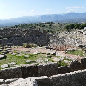 Grave Circle A at Mycenae