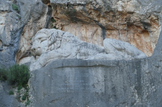 Sleeping Lion at Nauplio