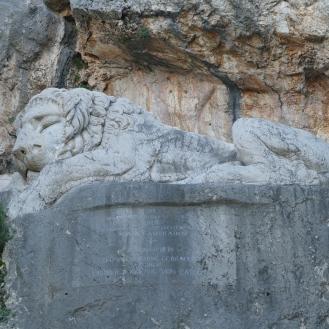 Sleeping Lion at Nauplio