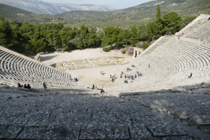Theater at the Asclepeion of Epidaurus