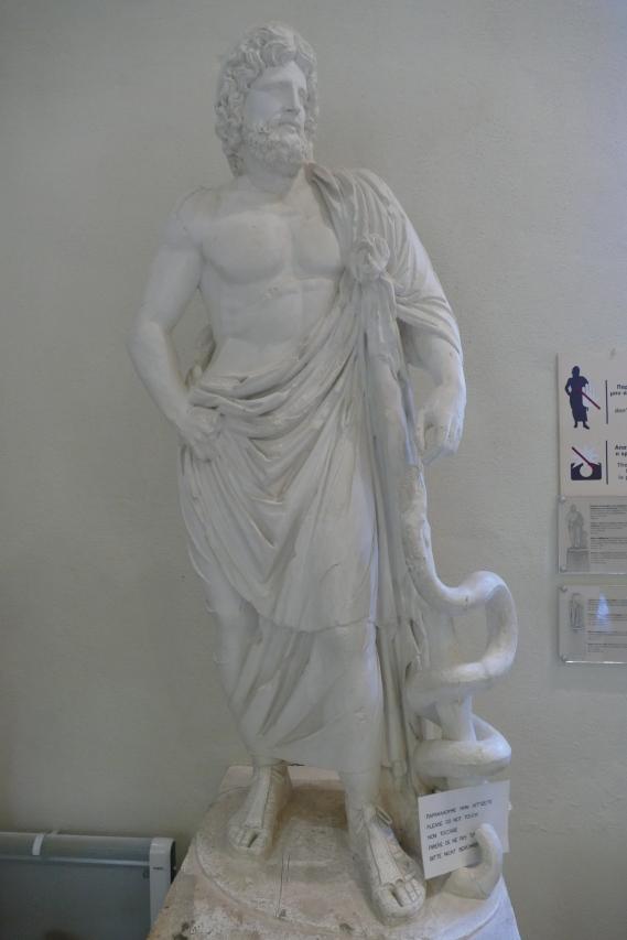 Statue of Asclepius (Epidaurus Museum)