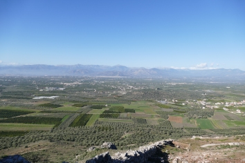A View of the Argolid from Midea