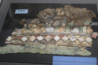 A Glass Panel from Kenchreai (Isthmia Museum)