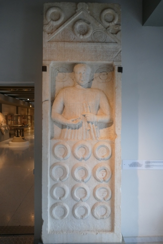 Flute-Player's Victory Monument (Isthmia Museum)