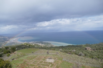 Aigeira (note the rainbow)
