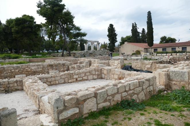 Frankish Quarter at Corinth